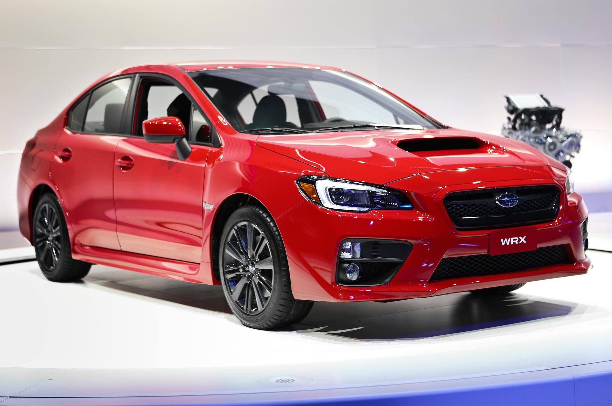 Auto Show: New 2015 Subaru WRX