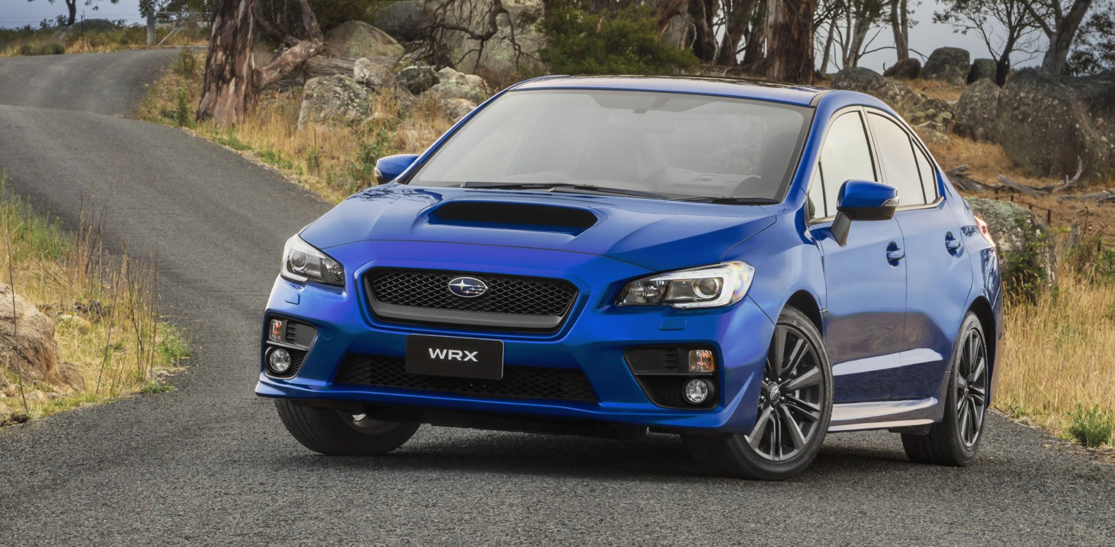 Best Photo: 2015 Subaru WRX (Blue)