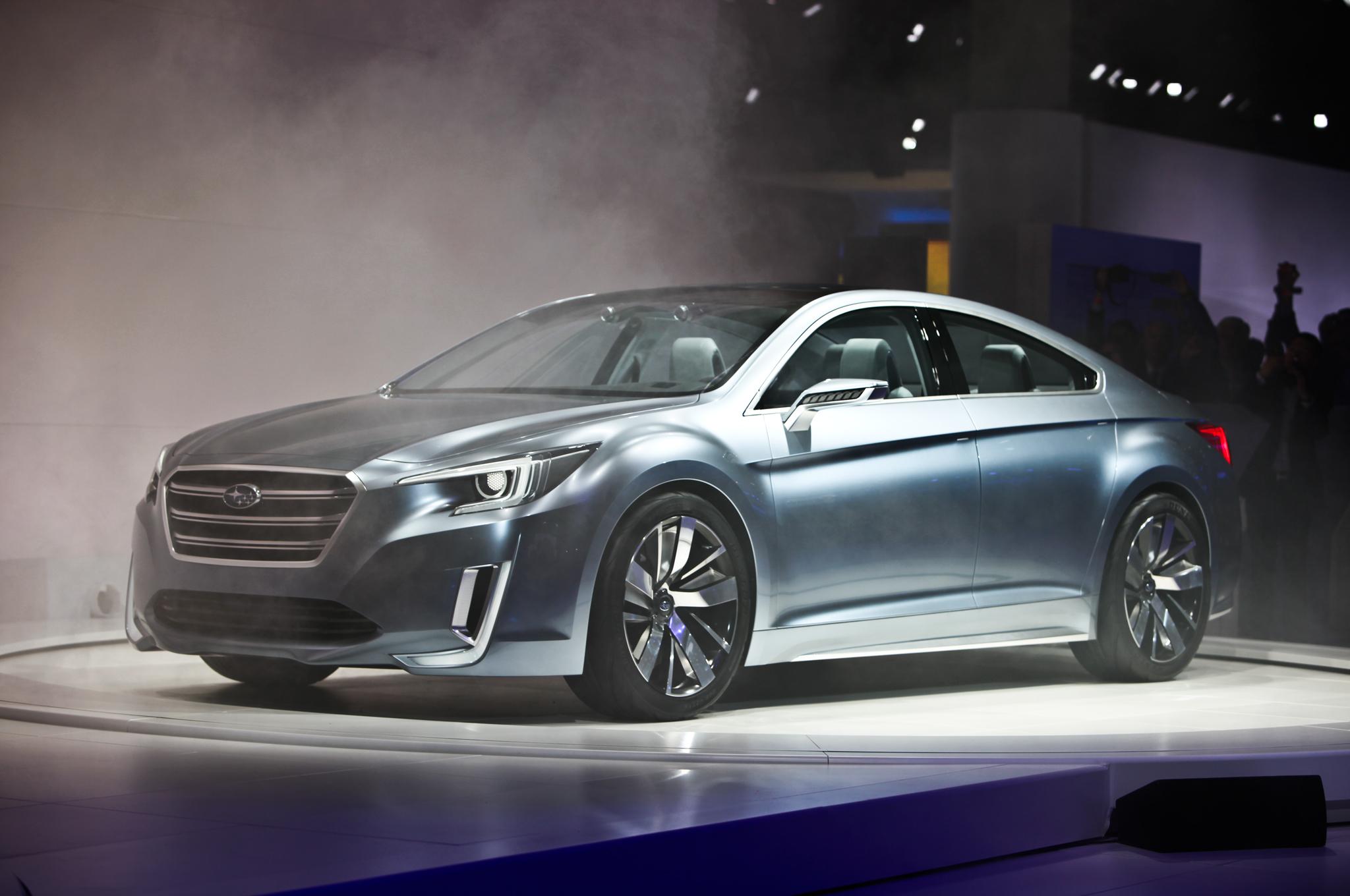 Cencept Cars: 2015 Subaru Legacy Concept