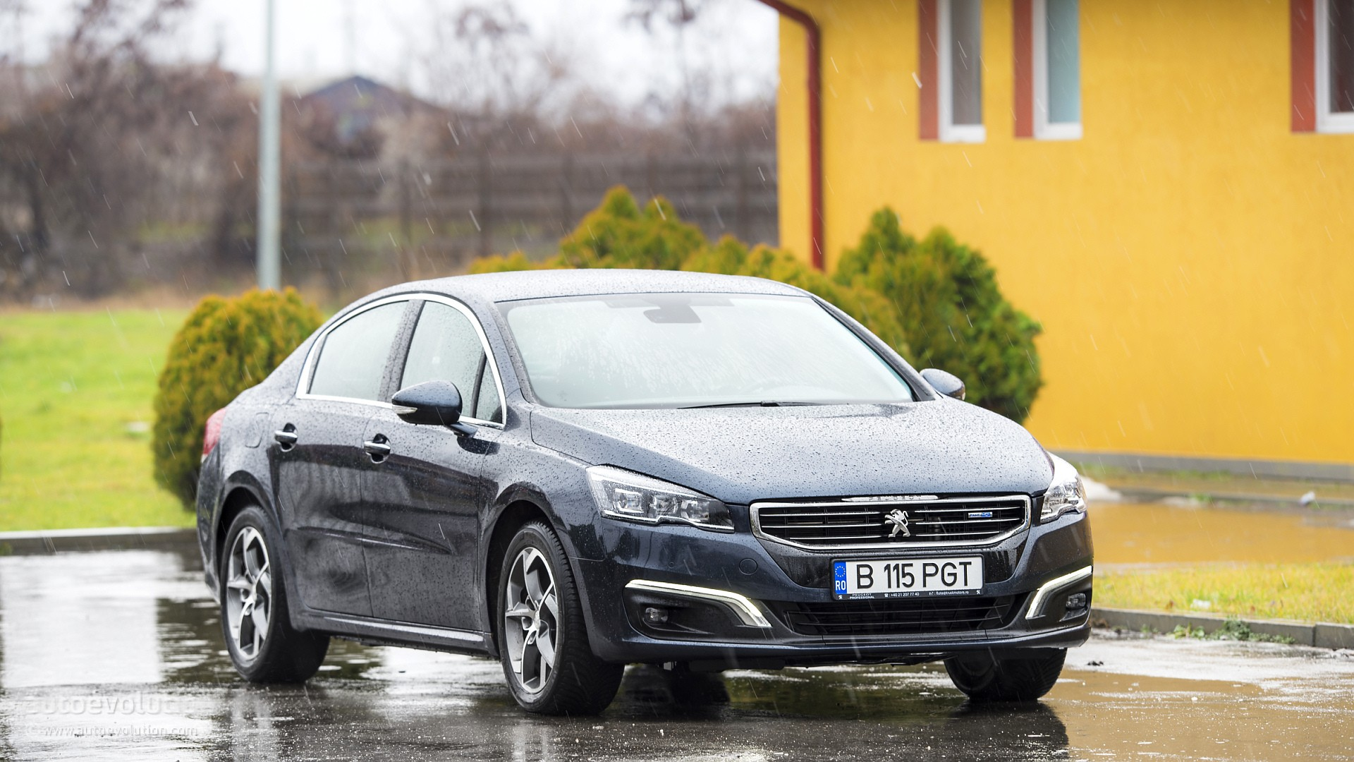 Exterior: 2015 Peugeot 508 Facelift