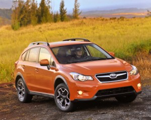 Exterior Features: 2015 Subaru XV Crosstrek