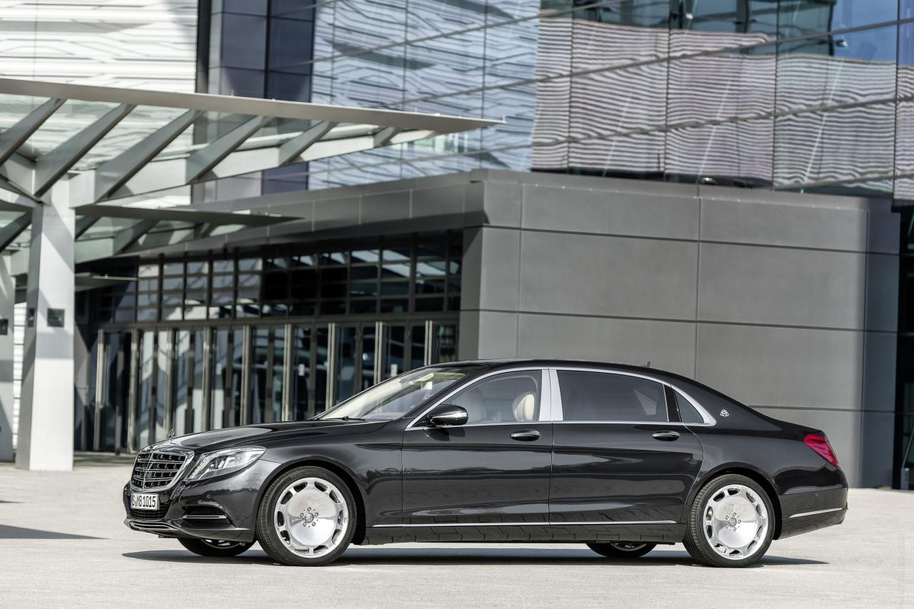 Exterior Preview: 2015 Mercedes-Maybach S-Class