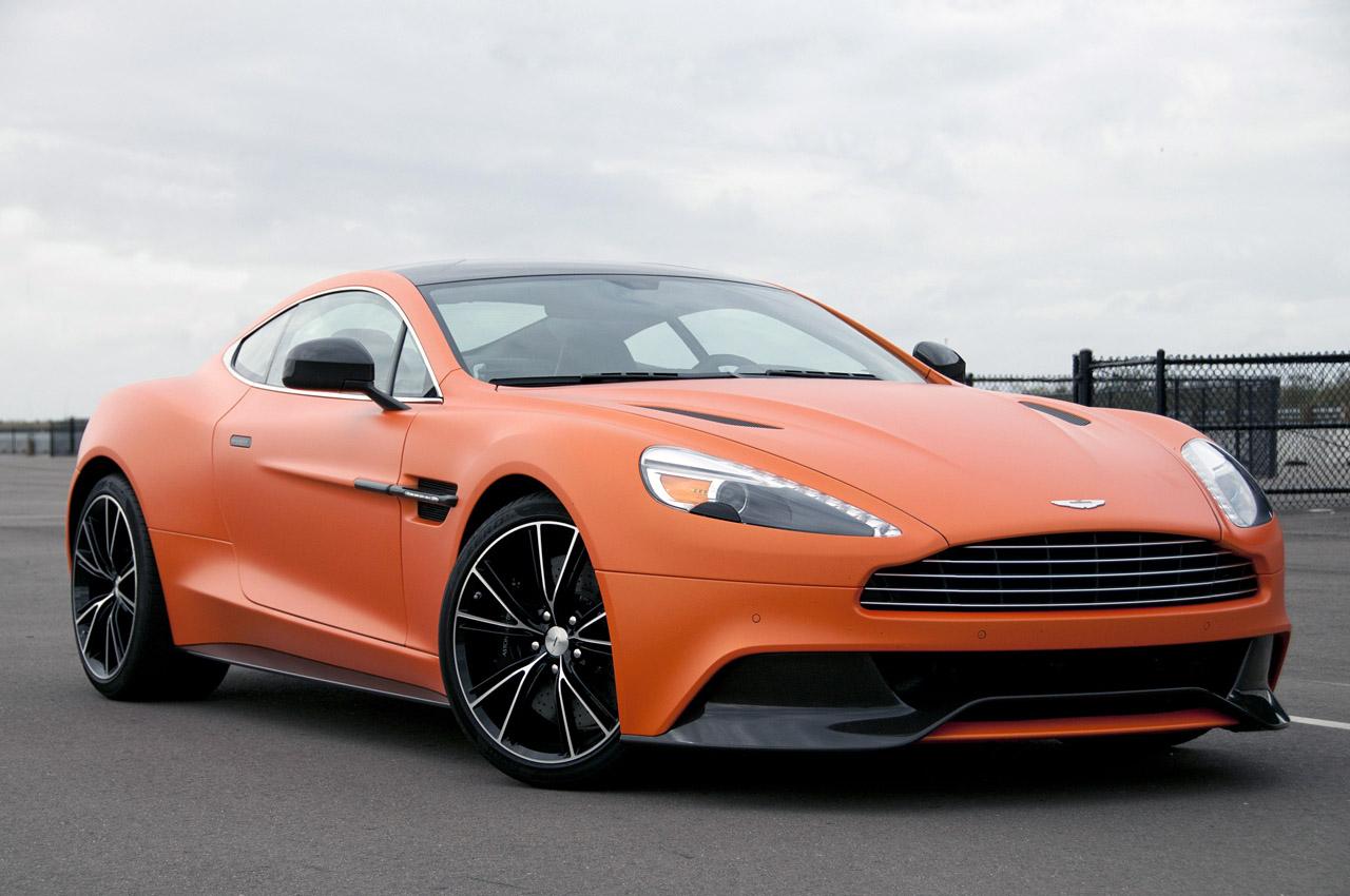 New 2014 Aston Martin Vanquish