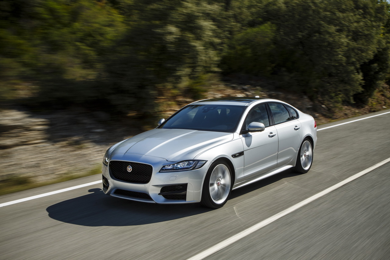 Performance Test: Jaguar XF 2015