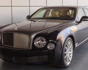 2014 Bentley Mulsanne Shaheen Edition