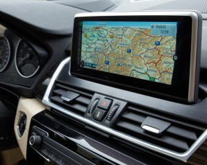 2015 BMW 225i Active Tourer Interior Center Head Unit