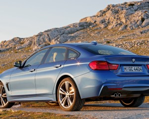 2015 BMW 428i Gran Coupe M Sport Exterior Side and Rear