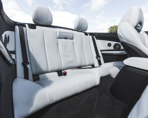 2015 BMW M4 Convertible Interior Rear Passengers Seats