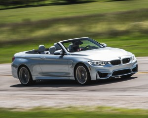 2015 BMW M4 Convertible Top Down Test