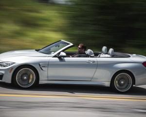 2015 BMW M4 Convertible Top Down