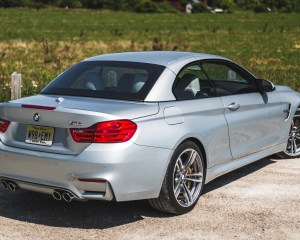 2015 BMW M4 Convertible Top Up Exterior Side and Rear
