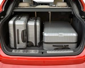 2015 BMW X4 xDrive35i Interior Cargo Space