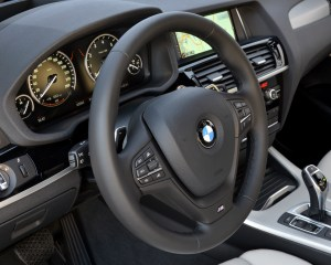 2015 BMW X4 xDrive35i Interior Steering