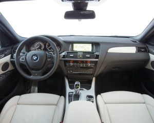 2015 BMW X4 xDrive35i Interior