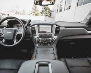 2015 Chevrolet Suburban LTZ Interior Dashboard