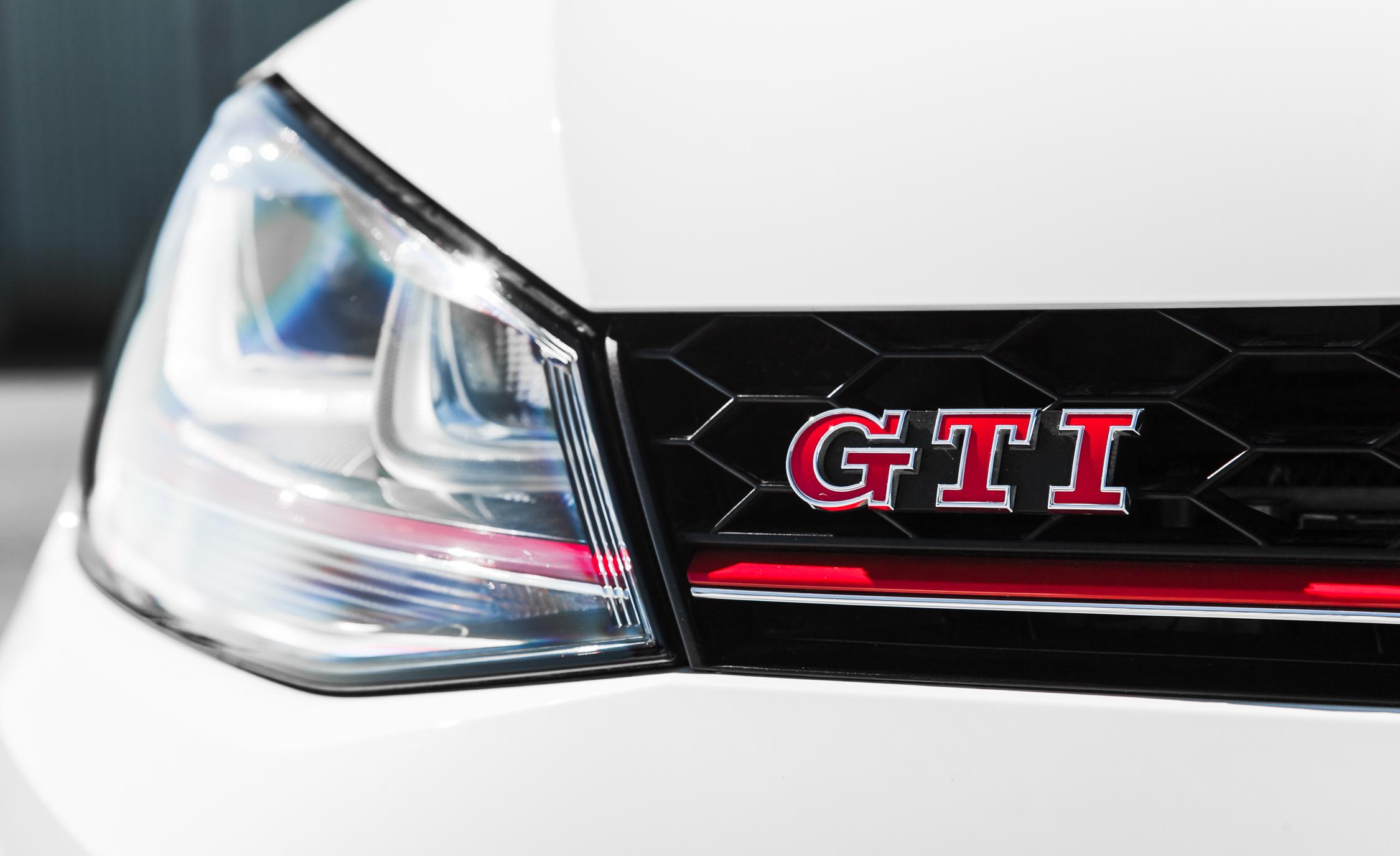 2015 Volkswagen GTI Exterior Front GTI Badge