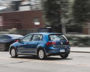 2015 Volkswagen Golf TSI Test Rear and Side View