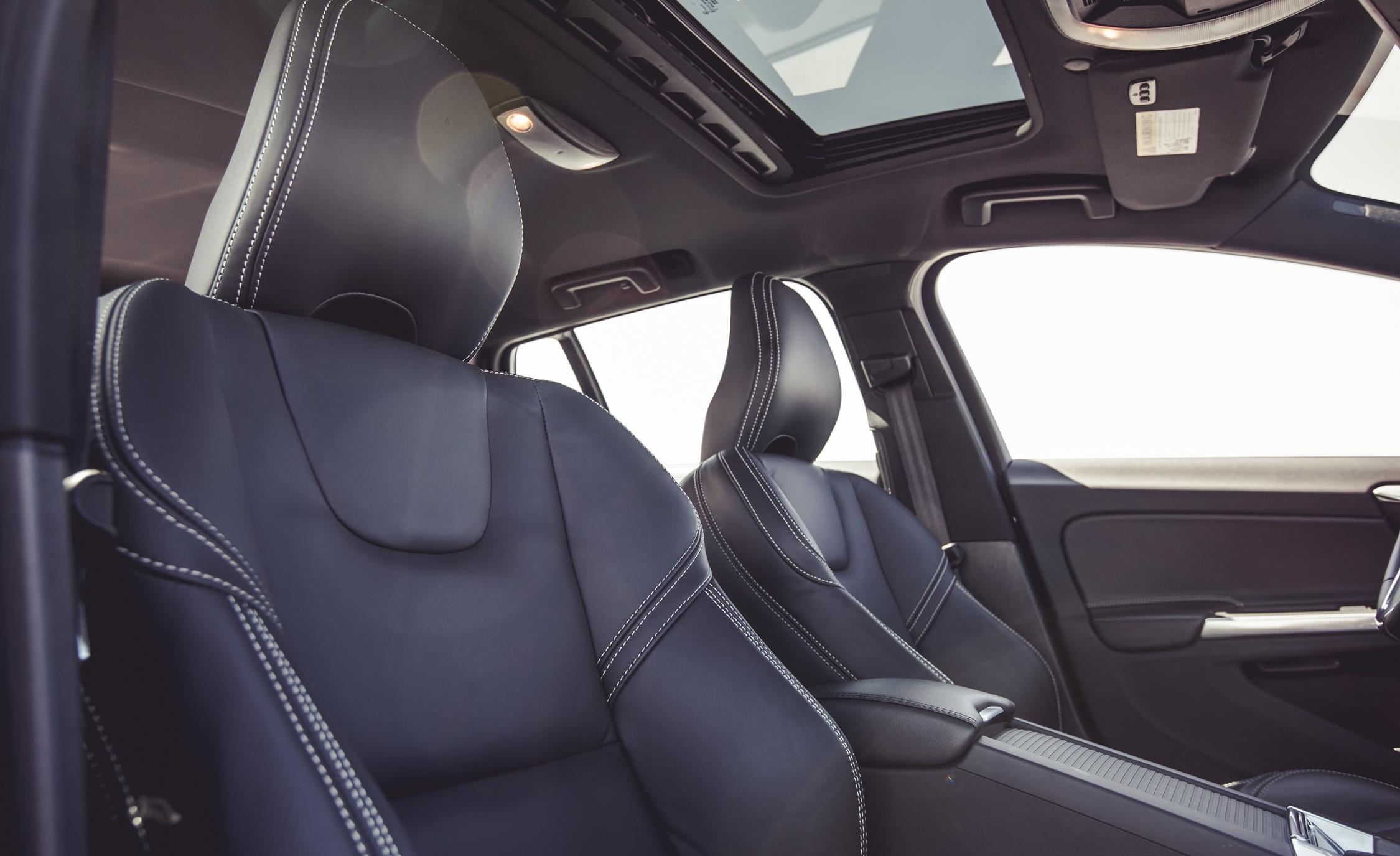 2015 Volvo V60 Interior Front Seats