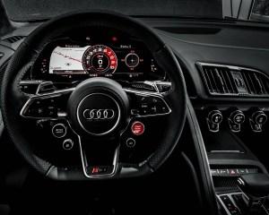 2016 Audi R8 V10 Plus Cockpit and Speedometer