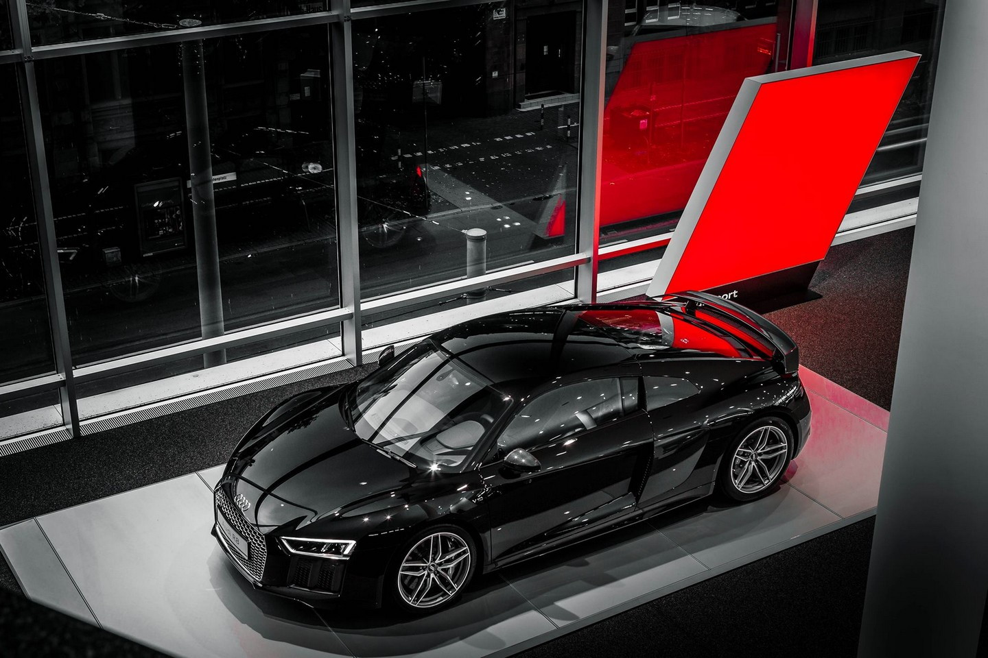 2016 Audi R8 V10 Plus Mythos Black Metalic