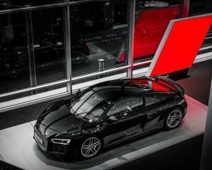2016 Audi R8 V10 Plus Mythos Black Metalic