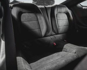 2016 Ford Mustang Shelby GT350R Interior Rear Seats