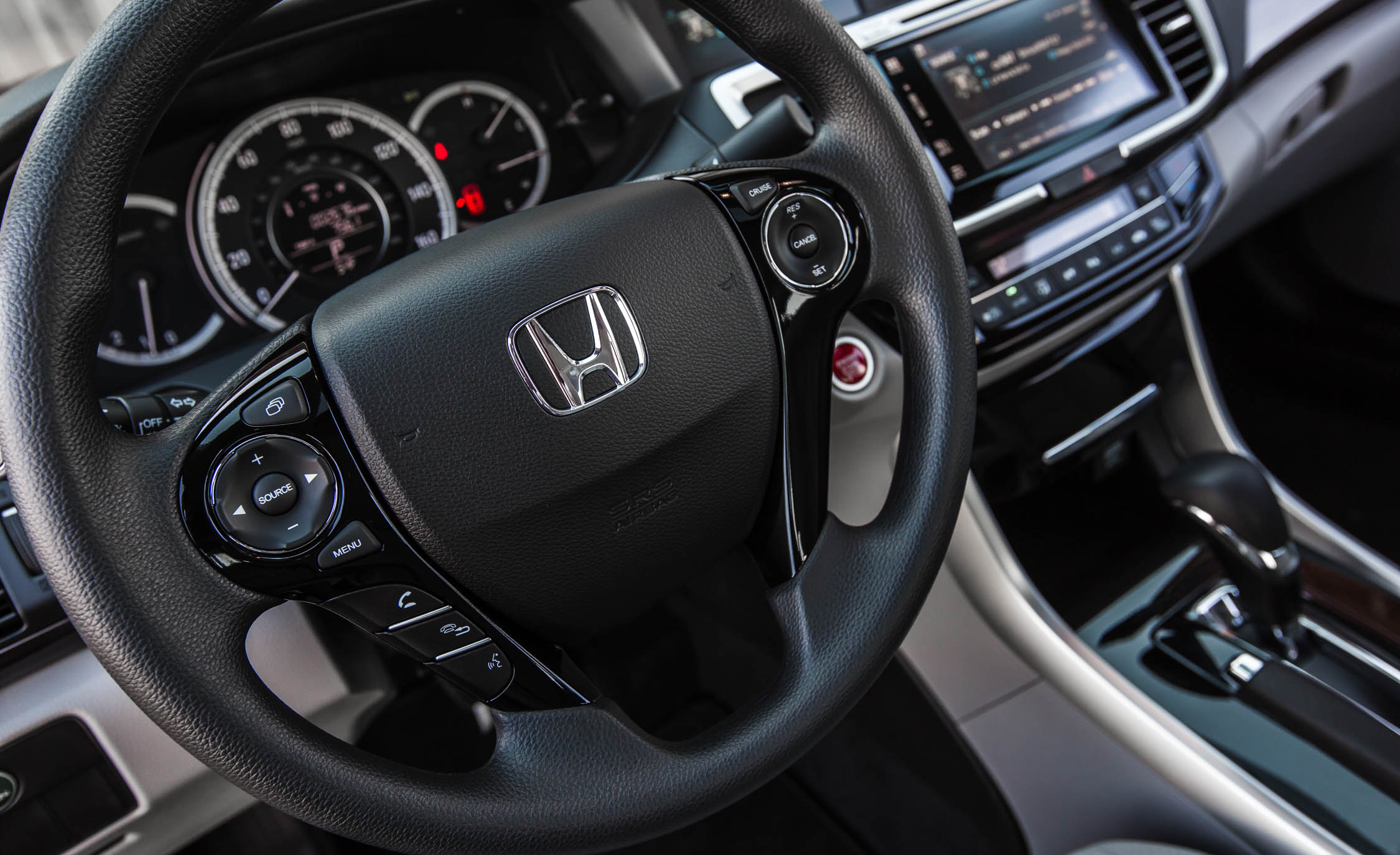 2016 Honda Accord EX Interior Steering