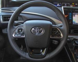 2016 Toyota Mirai Interior Steering