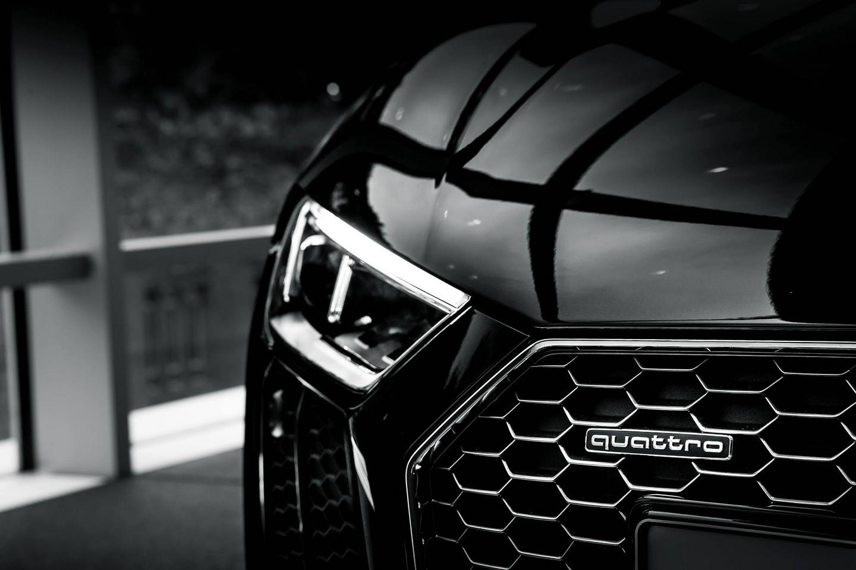 Audi R8 V10 Plus Headlamp Details