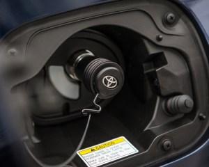 Exterior Charging Port Toyota Mirai 2016