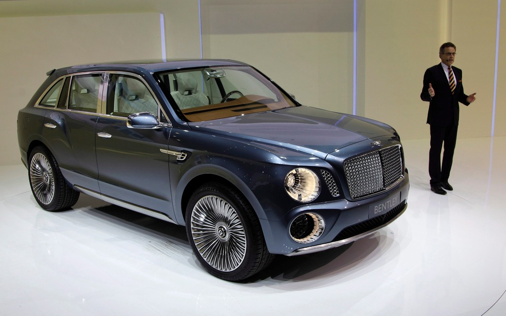 Concept: 2016 Bentley SUV