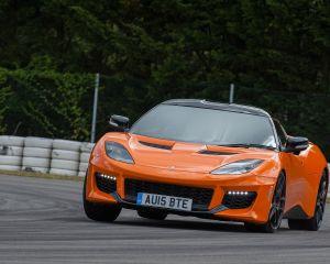 Font Detaills: 2016 Lotus Evora 400
