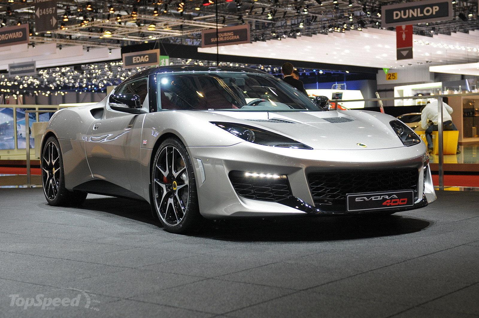 Next Design: 2016 Lotus Evora 400