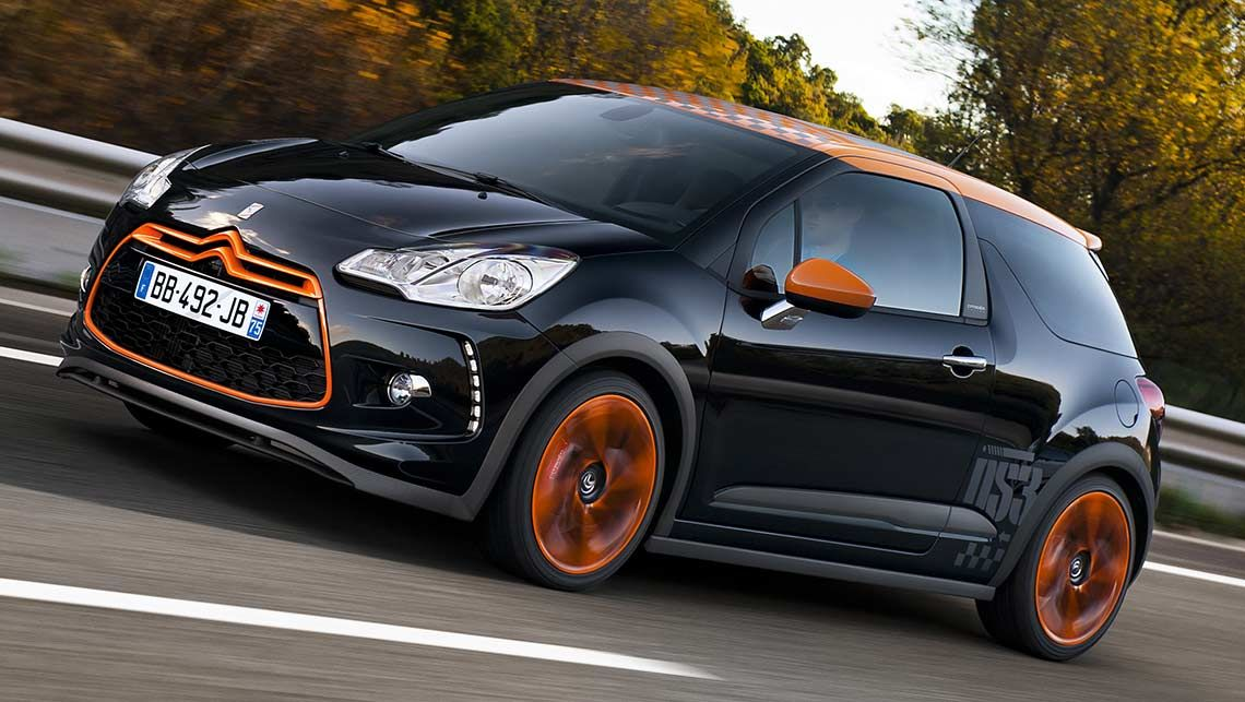 Performance: 2011 Citroen DS3 Racing