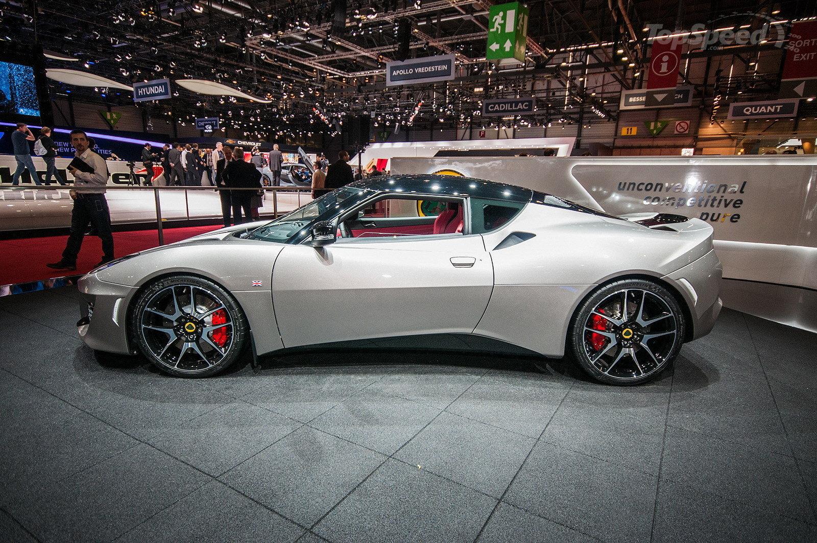 Side Design: The All-new New Lotus Evora 400 Supercar