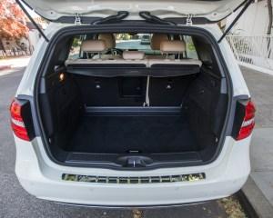 2014 Mercedes-Benz B-class Electric Drive Cargo Space