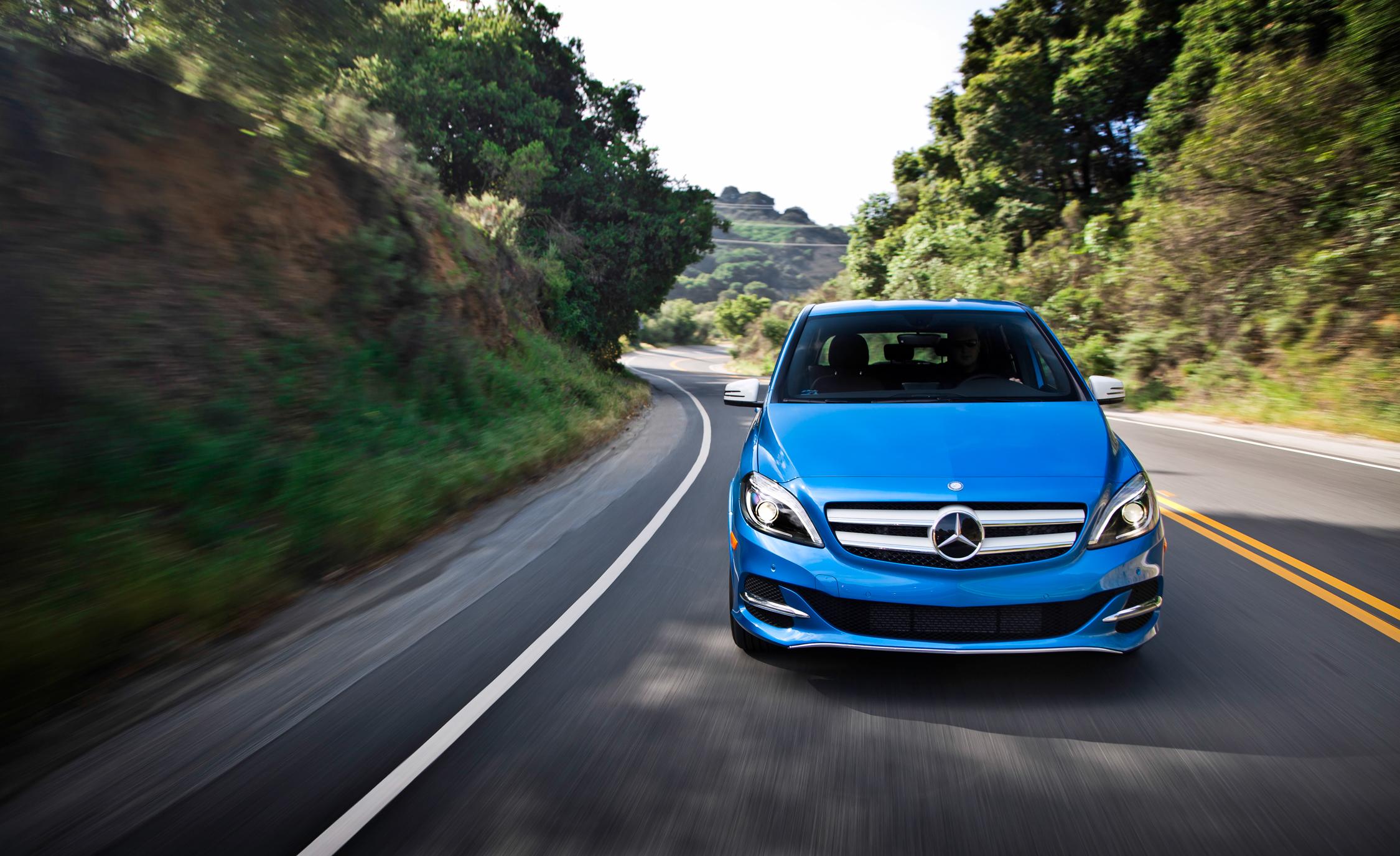 2014 Mercedes-Benz B-class Electric Drive Exterior Front View
