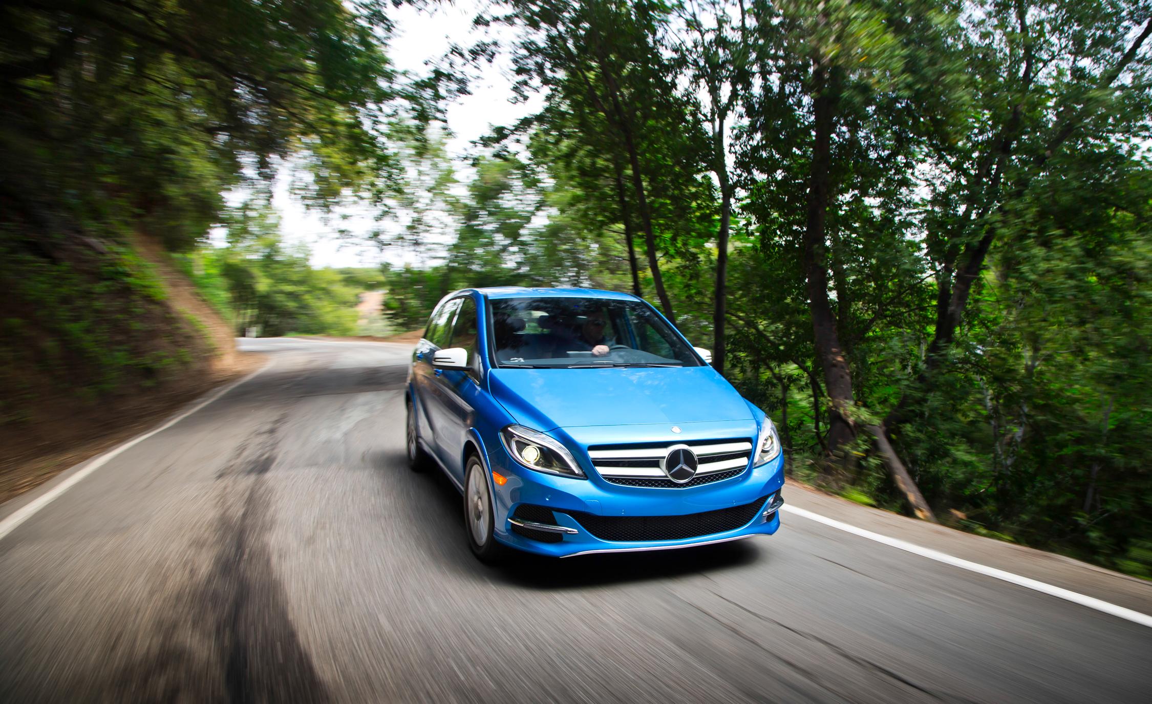 2014 Mercedes-Benz B-class Electric Drive Peformance