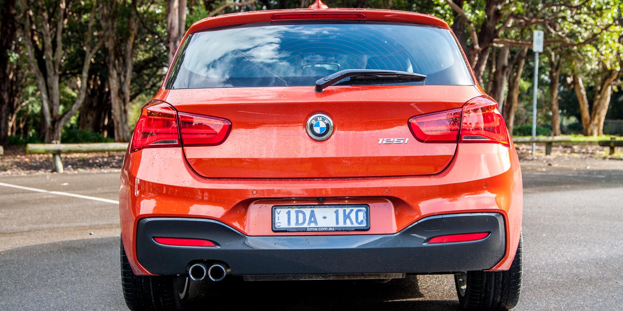 2015 BMW 125i Rear End