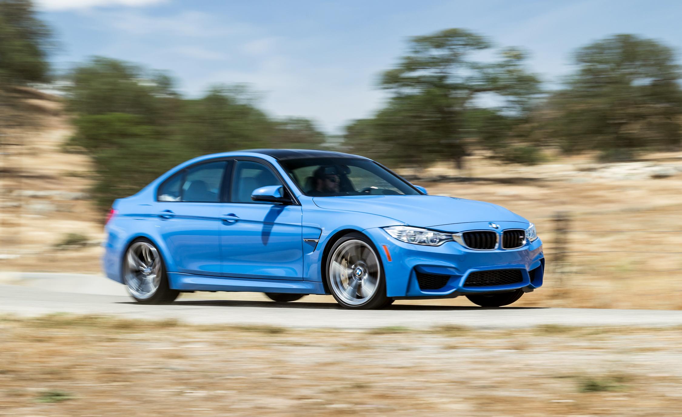 2015 BMW M3 Performance Test