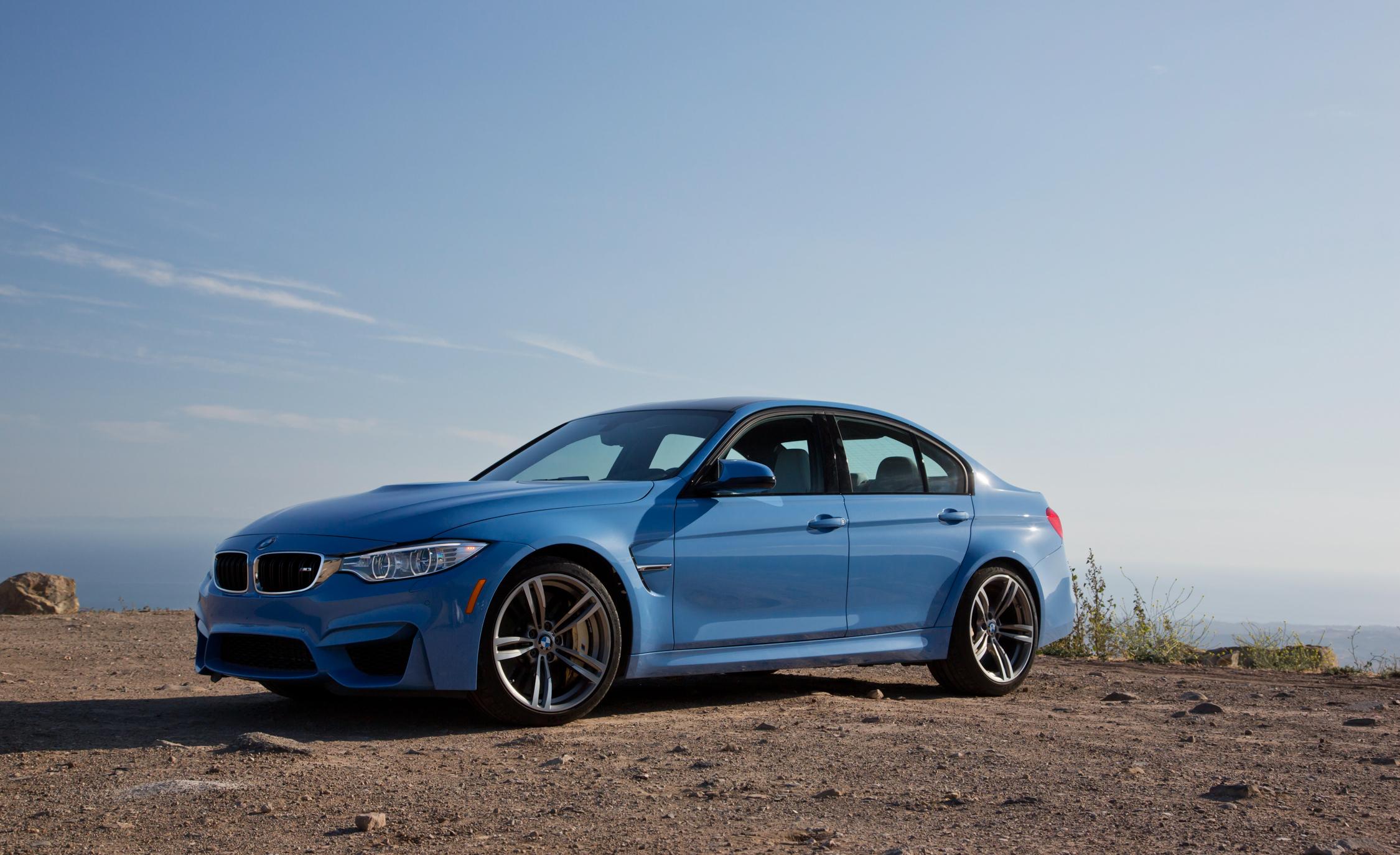 2015 BMW M3 Sedan Exterior Overview