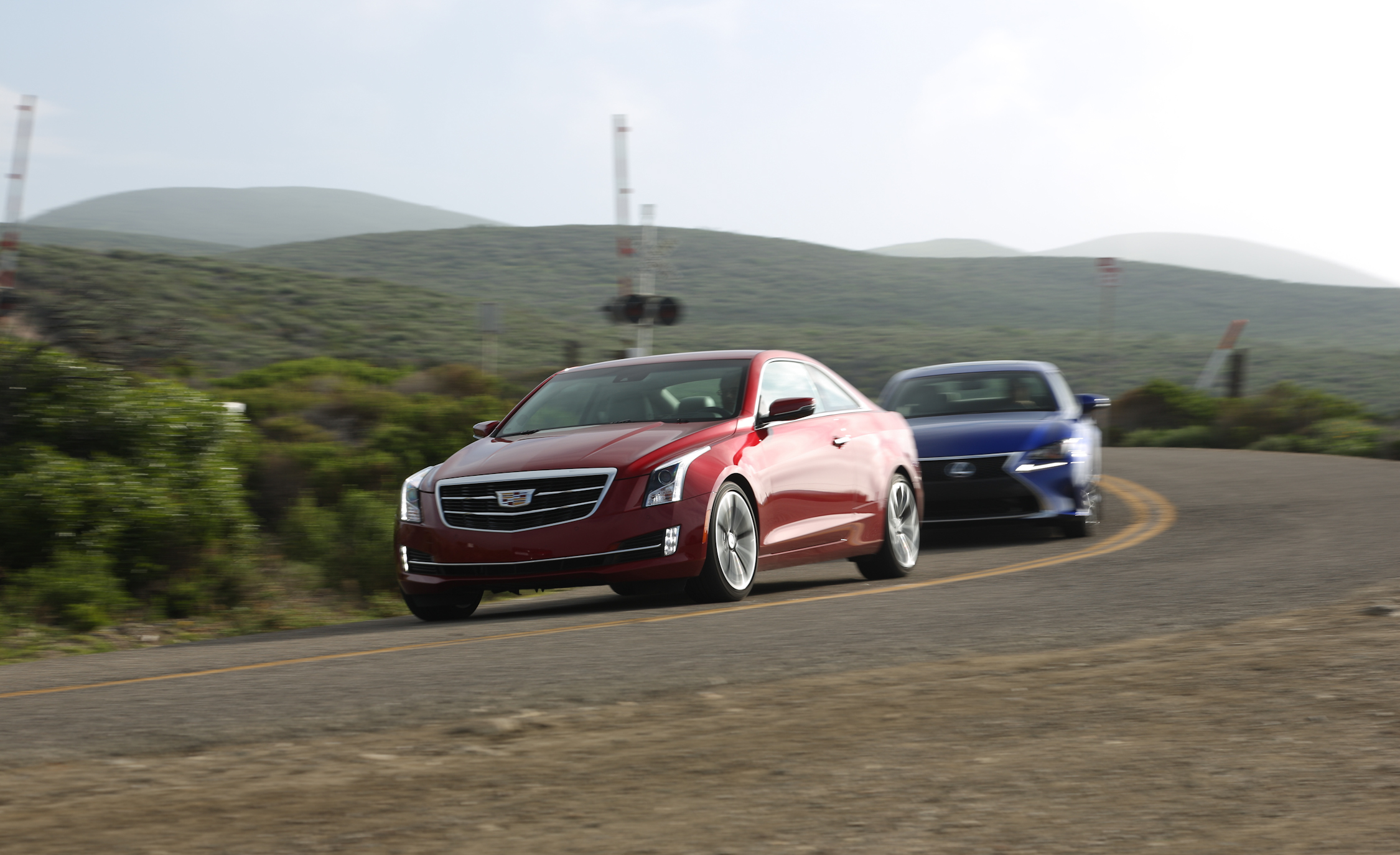 2015 Cadillac ATS Coupe 3.6 Front Design