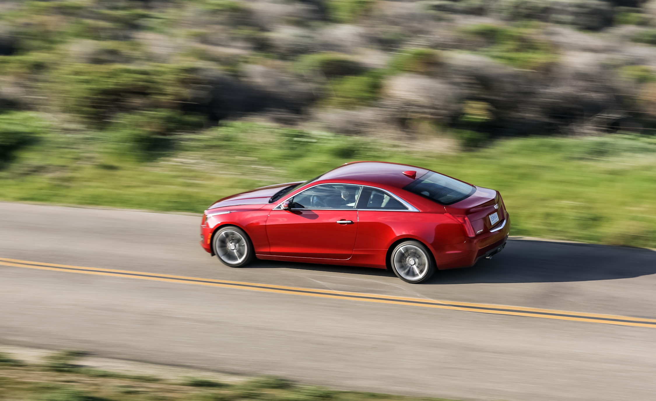 2015 Cadillac ATS Coupe 3.6 Performance Test