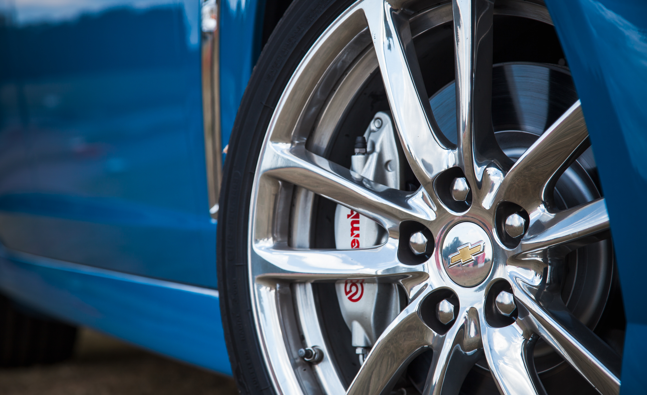 2015 Chevrolet SS Exterior Wheel Trim