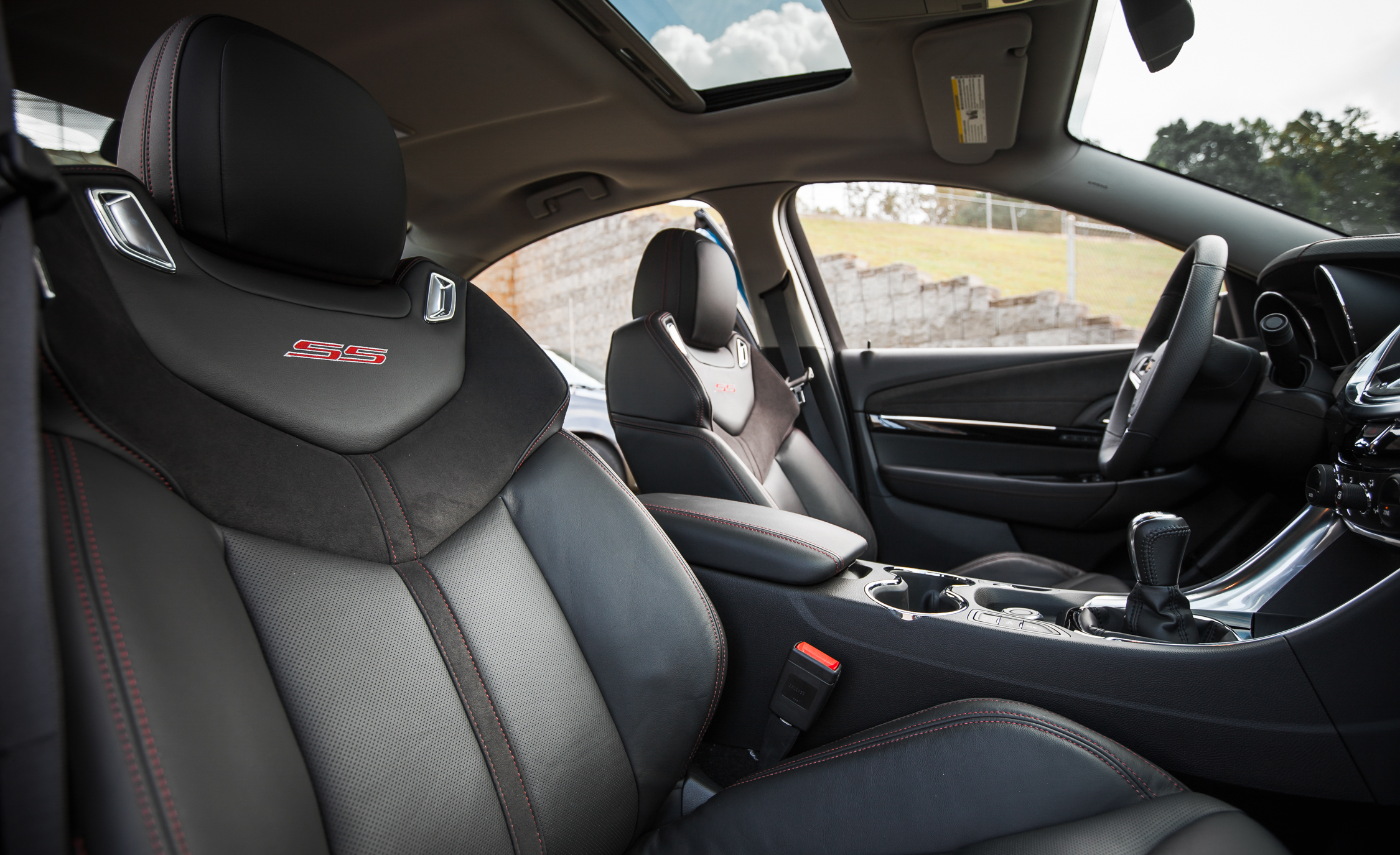 2015 Chevrolet SS Interior Front Seats