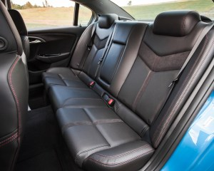 2015 Chevrolet SS Interior Rear Passenger Seats