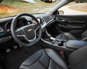 2015 Chevrolet SS Interior Steering and Dash