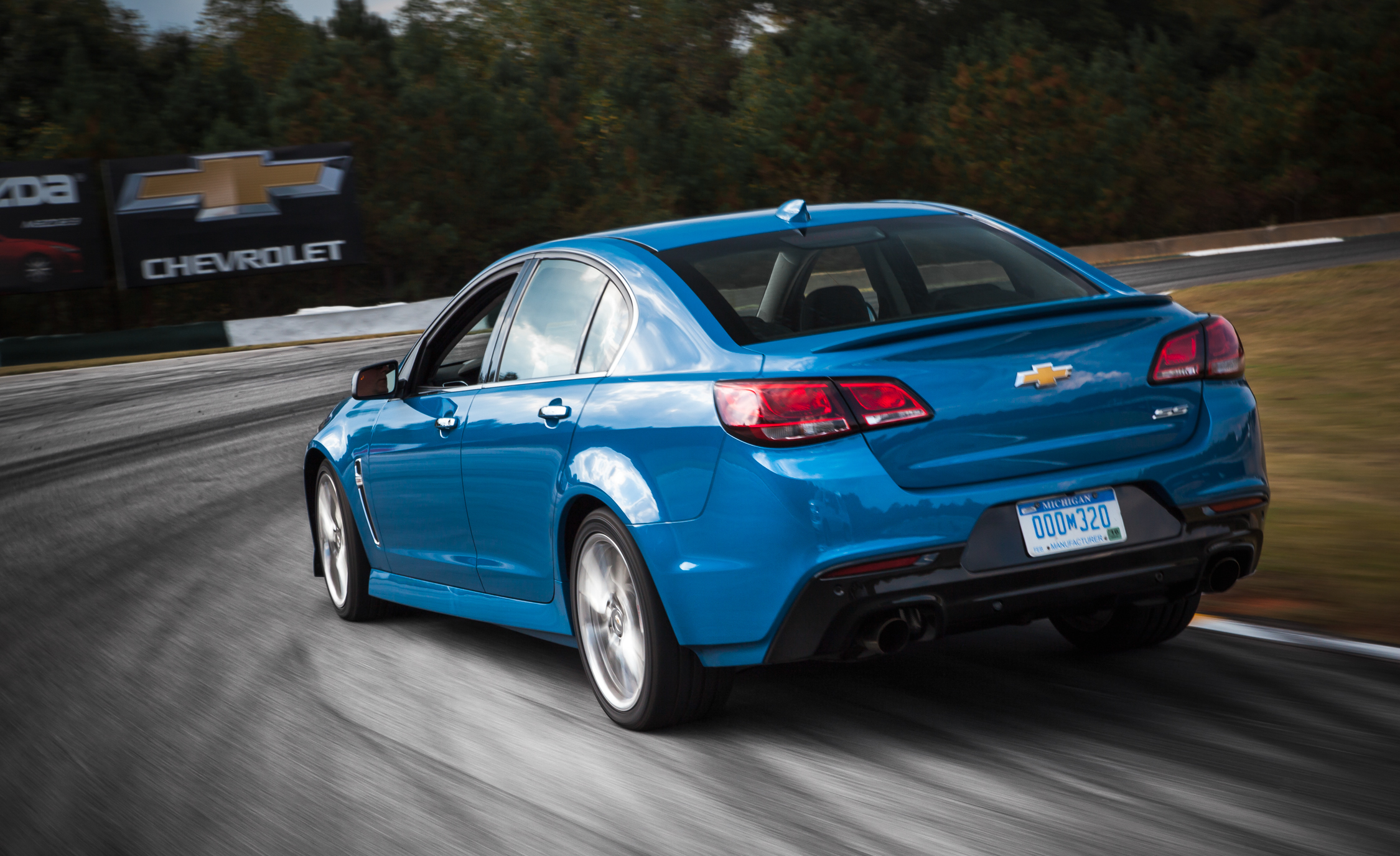 2015 Chevrolet SS Test Cornering
