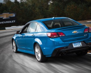 2015 Chevrolet SS Test Cornering