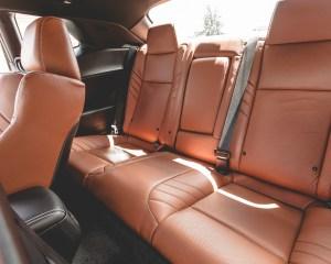2015 Dodge Challenger SRT Hellcat Interior Rear Seats